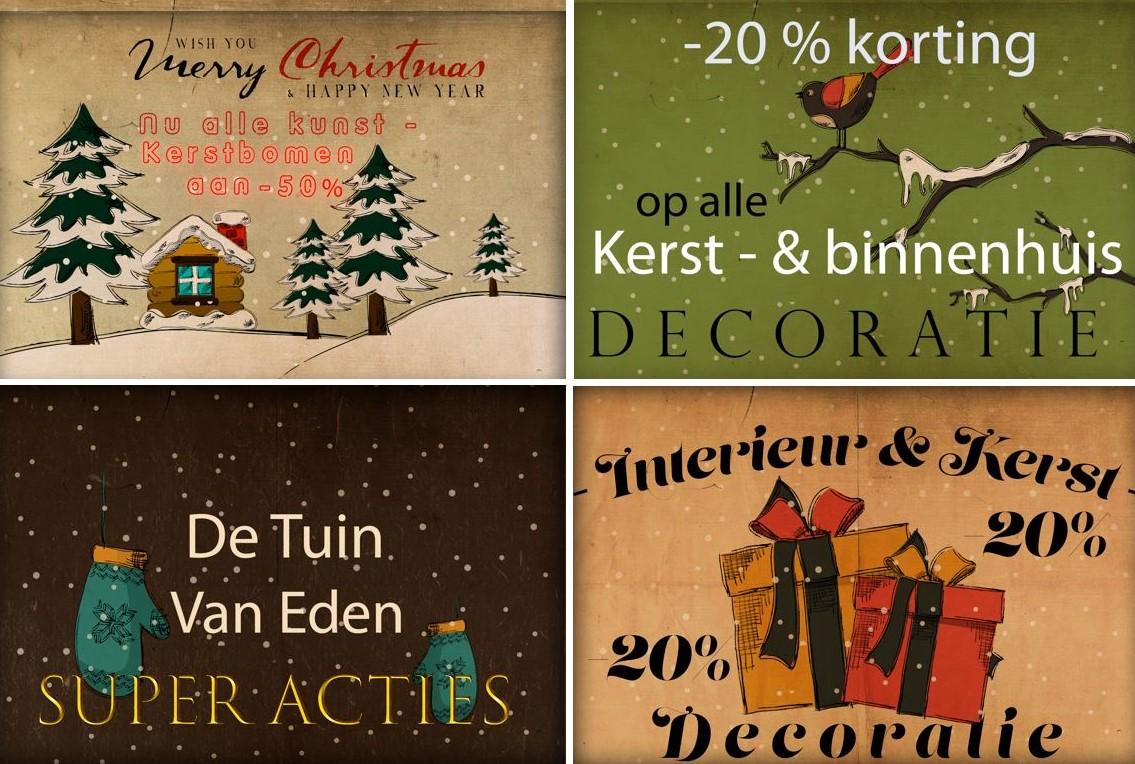 Folder Kerst De Tuin Van Eden